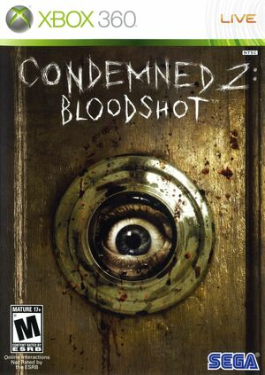 Cover for Condemned 2: Bloodshot.