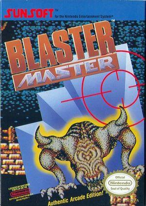 Cover for Blaster Master.