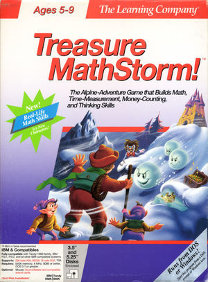 Cover for Treasure MathStorm!.