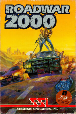 Cover for Roadwar 2000.