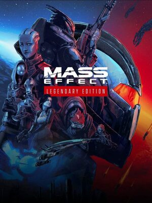 Cover for Mass Effect Legendary Edition.