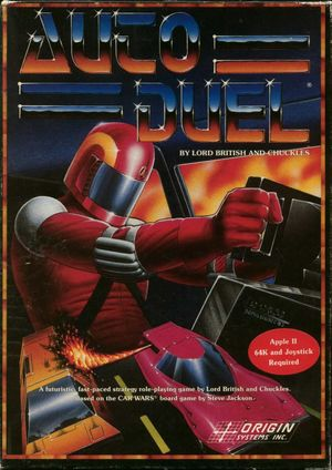 Cover for Autoduel.