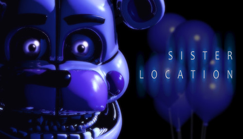 Cover for Five Nights at Freddy's: Sister Location.
