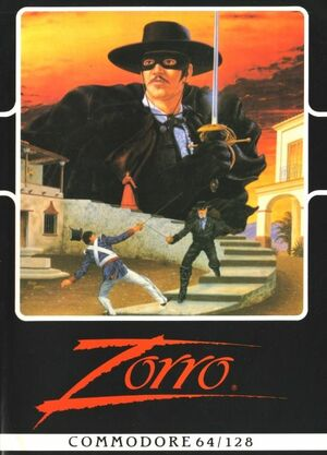 Cover for Zorro.