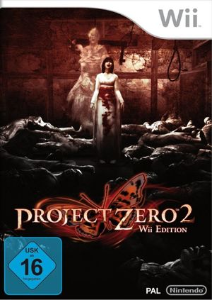 Cover for Project Zero 2: Wii Edition.