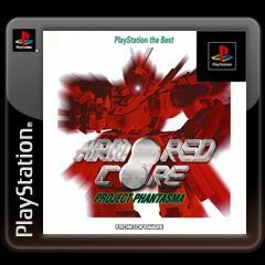 Cover for Armored Core: Project Phantasma.