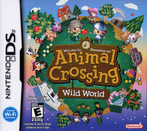 Cover for Animal Crossing: Wild World.