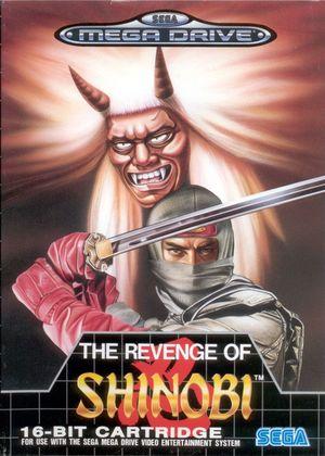 Cover for The Revenge of Shinobi.