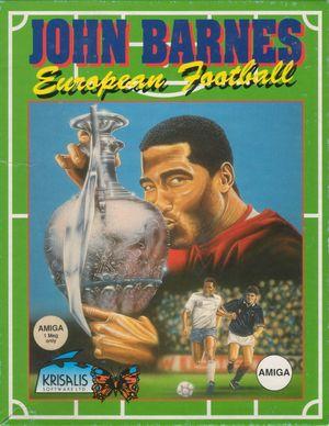 Cover for John Barnes European Football.