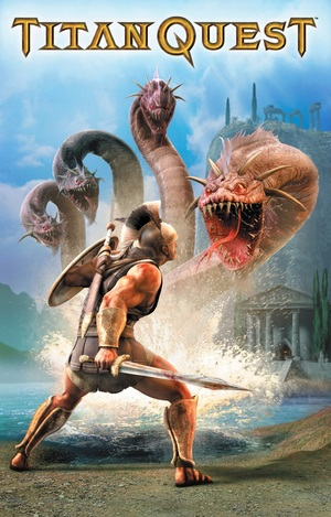 Cover for Titan Quest.