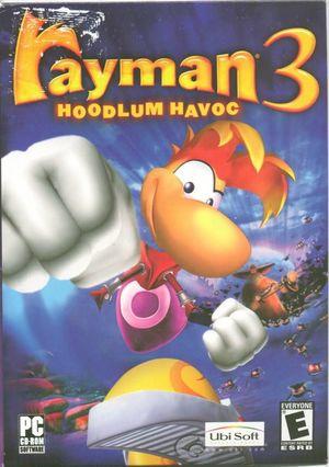Cover for Rayman 3: Hoodlum Havoc.