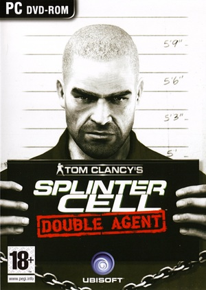 Cover for Tom Clancy's Splinter Cell: Double Agent.