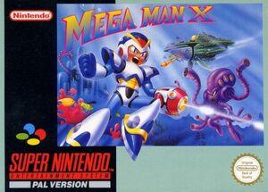 Cover for Mega Man X.