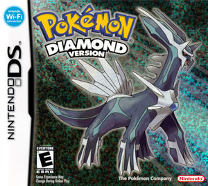 Cover for Pokémon Diamond.