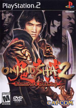 Cover for Onimusha 2: Samurai's Destiny.