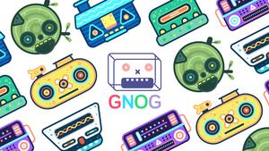 Cover for GNOG.