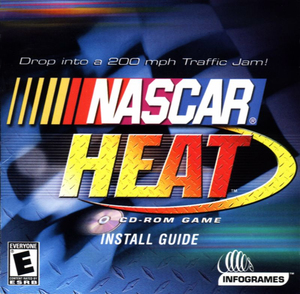 Cover for NASCAR Heat.