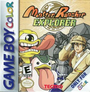 Cover for Monster Rancher Explorer.