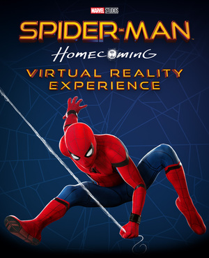 Cover for Spider-Man: Homecoming - Virtual Reality Experience.