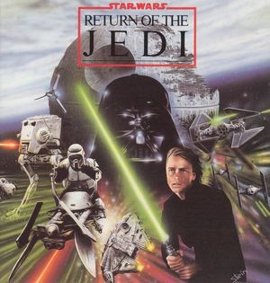 Cover for Star Wars: Return of the Jedi.