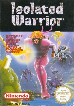 Cover for Isolated Warrior.