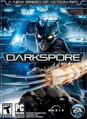 Cover for Darkspore.