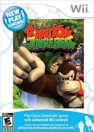 Cover for New Play Control!: Donkey Kong Jungle Beat.