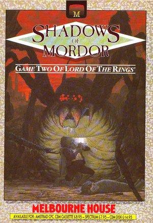 Cover for Shadows of Mordor.