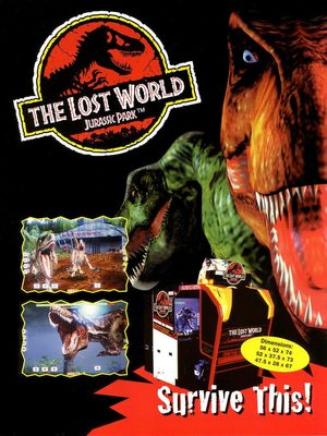 Cover for The Lost World: Jurassic Park.