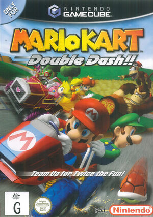 Cover for Mario Kart: Double Dash!!.
