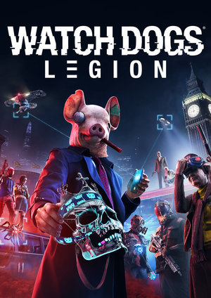 Cover for Watch Dogs: Legion.