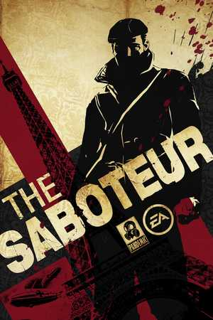 Cover for The Saboteur.