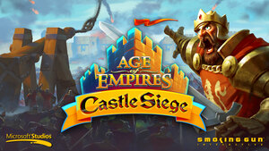 Cover for Age of Empires: Castle Siege.