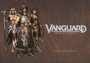 Cover for Vanguard: Saga of Heroes.