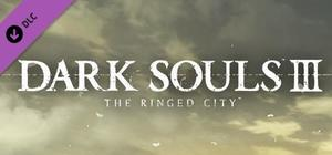 Cover for Dark Souls III: The Ringed City.