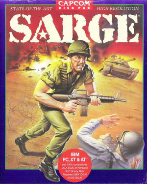 Cover for Sarge.