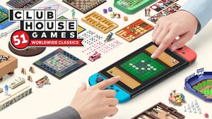Cover for Clubhouse Games: 51 Worldwide Classics.