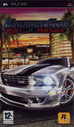 Cover for Midnight Club: L.A. Remix.