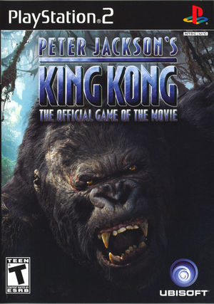 Cover for Peter Jackson's King Kong.