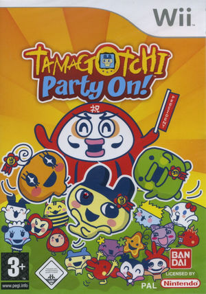 Cover for Tamagotchi: Party On!.