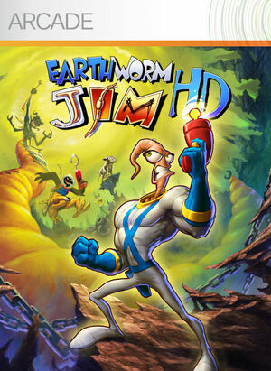 Cover for Earthworm Jim HD.