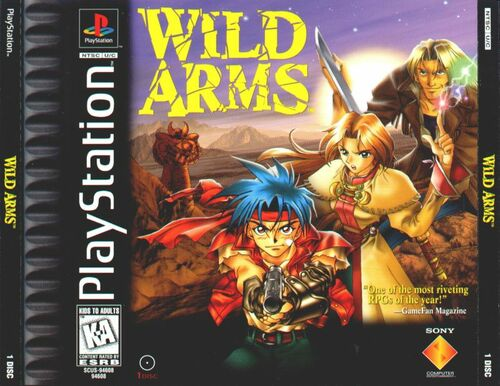 Cover for Wild Arms.