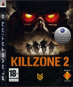 Cover for Killzone 2.