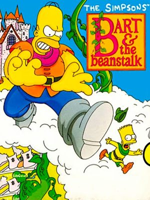 Cover for The Simpsons: Bart & the Beanstalk.