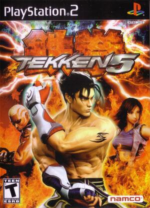 Cover for Tekken 5.