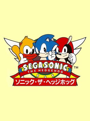Cover for SegaSonic the Hedgehog.