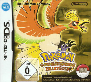 Cover for Pokémon HeartGold.