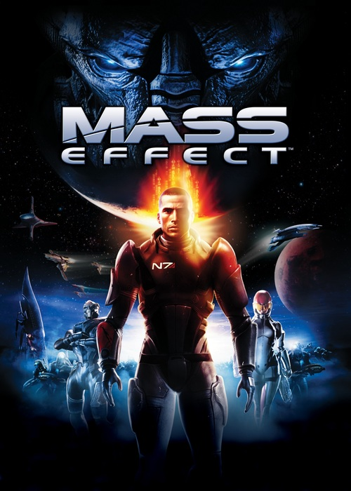 Cover for Mass Effect.