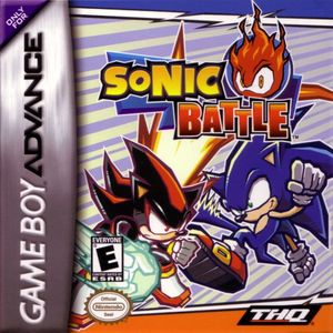 Cover for Sonic Battle.