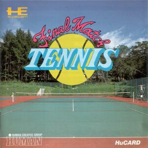 Cover for Final Match Tennis.